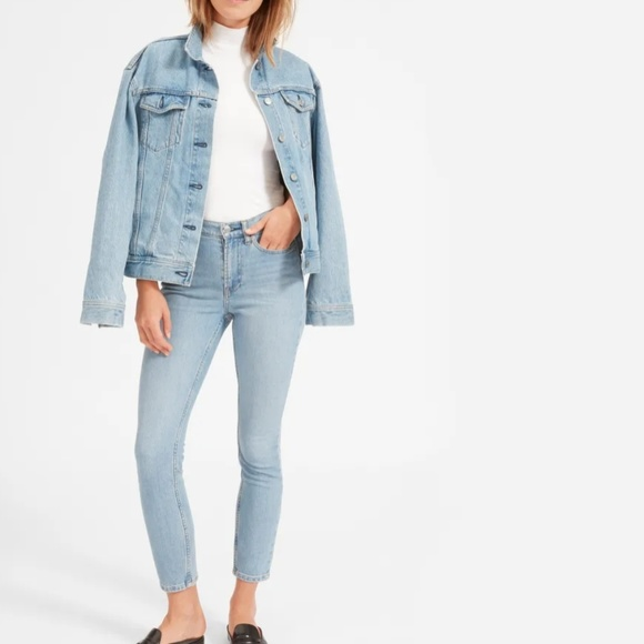 Everlane Denim - Everlane The High-Rise Skinny Jean